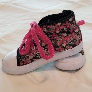 Other - Girls Flowered Hi-Tops